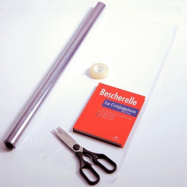 couvrir les livres scolaires