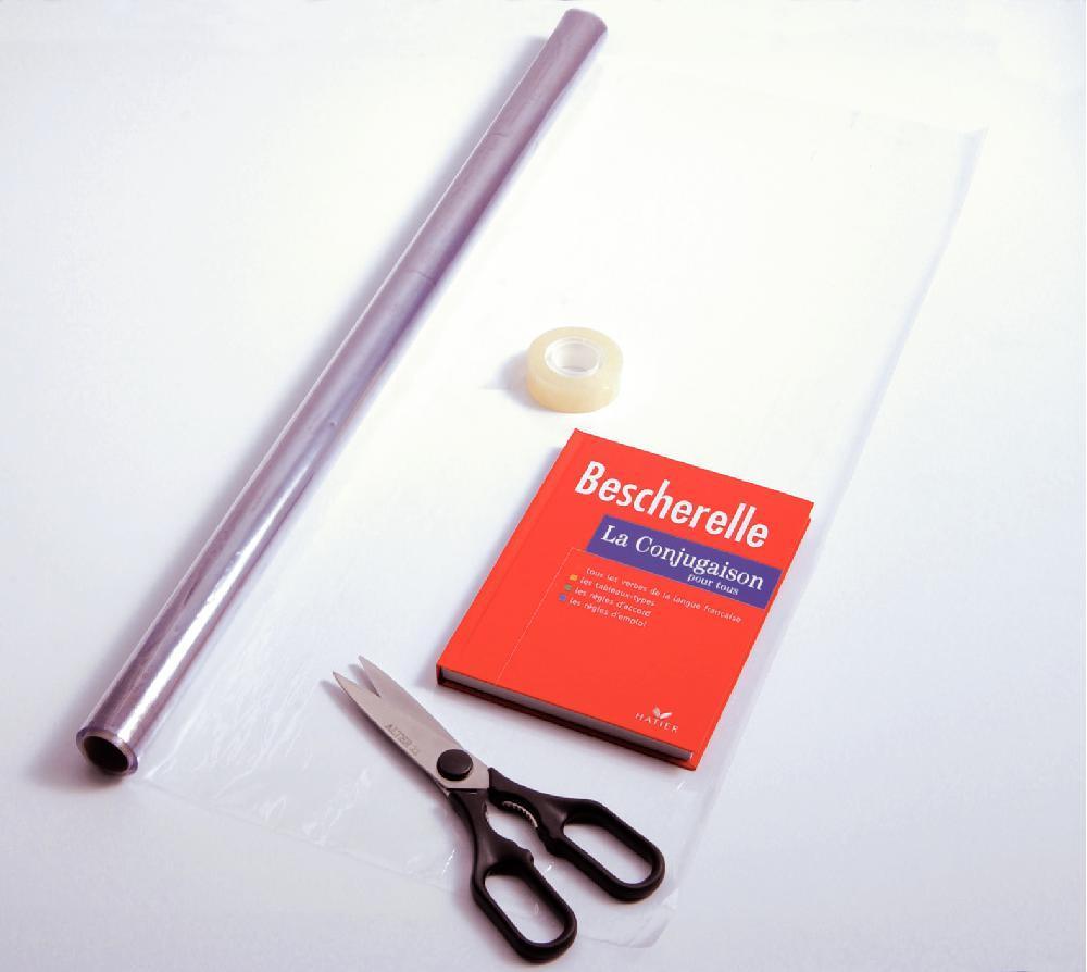 Atelier couverture des livres scolaires