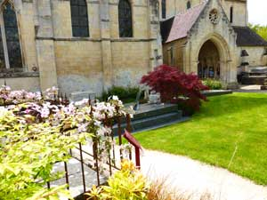 Cimetiere de l'église de Verson