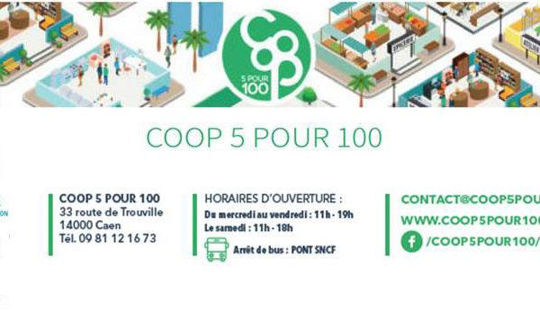 Coop 5 pour cent Caen ressourcerie