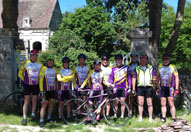 Sortie en vélo de l'association les Cyclos de l'Odon