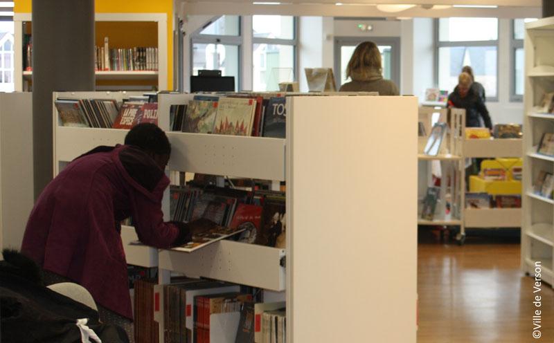 Réouverture de l@ bibliothèque