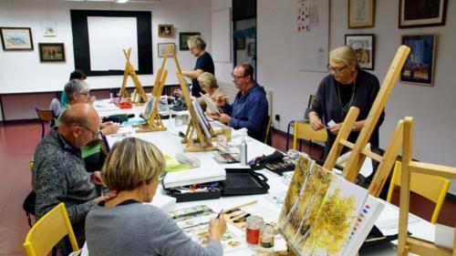 Asso-ArtsPlastiques-aquarelle adultes
