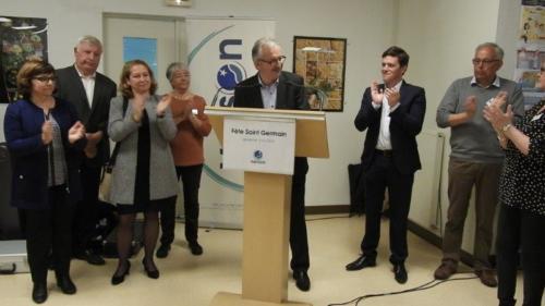 Discours M. Marie, maire de Verson